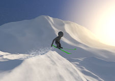 Ski jump Royalty Free Stock Images