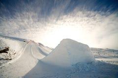 Ski jump Royalty Free Stock Photo