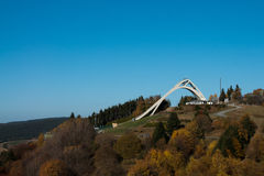Ski Jump de Winterberg Images stock