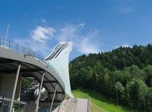 Ski-jump en Garmisch-Partenkirchen Fotos de archivo