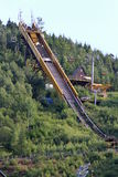 Ski jump in Harrachov Stock Photo