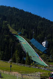 Ski jump slope in Zakopane Stock Image