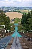 Ski jump tower Royalty Free Stock Photos
