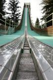 Ski jump tower royalty free stock photo