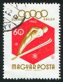 Ski Jumper Royalty-vrije Stock Afbeeldingen