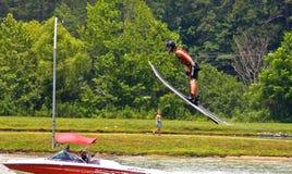 Ski Jumper stock photos