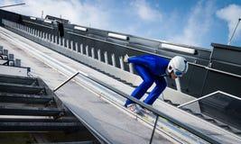 Ski Jumper Stock Image