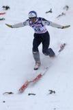 Ski jumper Wolfgang LOITZL lands Stock Image