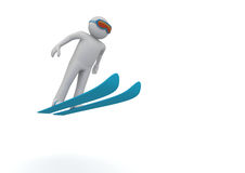 Ski jumping Royalty Free Stock Images