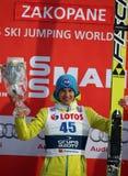 Ski Jumping Lizenzfreie Stockbilder