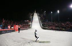 Ski Jumping Stockfoto