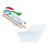 Ski Jumping Royalty Free Stock Photo