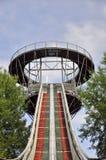 Ski jumping arena Royalty Free Stock Image