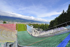 Ski Jumping Ramp Immagini Stock