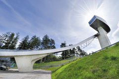 Ski Jumping Ramp Royalty Free Stock Photos