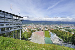 Ski Jumping Ramp Stock Images