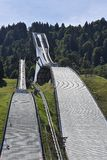 Ski jumping tower Garmisch Partenkirchen Royalty Free Stock Images
