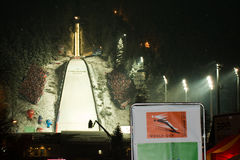 Ski Jumping World Cup Zakopane, Poland 22/1/2011 Royalty Free Stock Photo