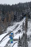 Ski Jumping- Zakopane Stock Images