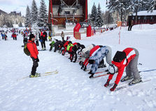 Ski Lessons Stock Images