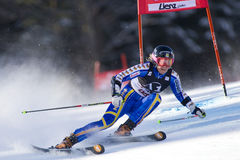 SKI: Lienz Giant Slalom Stock Photos
