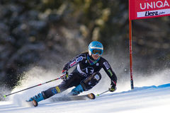 SKI: Lienz Giant Slalom Royalty Free Stock Photo