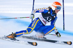 SKI: Lienz Giant Slalom Stock Photography