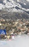 SKI: Lienz Giant Slalom Royalty Free Stock Photos