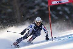 SKI: Lienz Giant Slalom Royalty Free Stock Photography