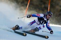 SKI: Lienz Giant Slalom Royalty Free Stock Images