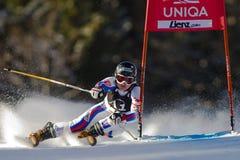 SKI: Lienz Giant Slalom Royalty Free Stock Image