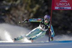 SKI: Lienz Giant Slalom Royalty Free Stock Photos