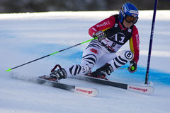SKI: Lienz Giant Slalom Stock Images
