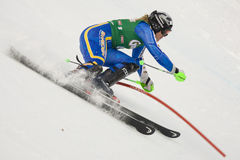 SKI: Lienz Slalom Royalty Free Stock Photos