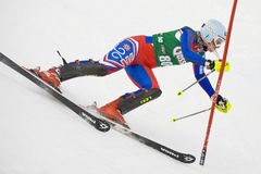 SKI: Lienz Slalom Royalty Free Stock Image