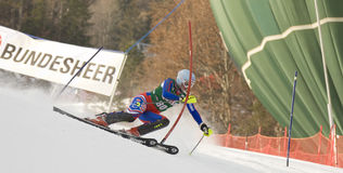 SKI: Lienz Slalom Royalty Free Stock Photo