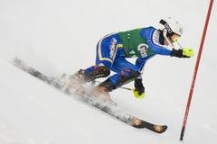 SKI: Lienz Slalom Stock Images