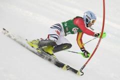 SKI: Lienz Slalom Stock Photos