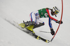 SKI: Lienz Slalom Stock Photo