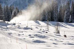 Ski lift Royalty Free Stock Images
