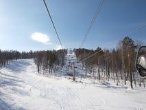 Ski lift. Stock Images
