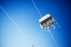 Free Ski Lift Royalty Free Stock Photo - 23060435
