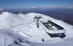 Ski lift Stock Photography