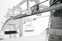 Ski lift Stock Image