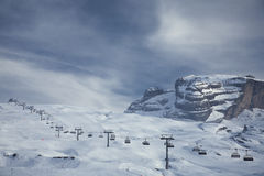 Ski lift Stock Images