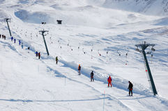 Ski-lift Imagens de Stock