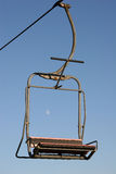 Ski Lift. Chair lift in summer Royalty Free Stock Photography