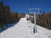 Ski lift.  Royalty Free Stock Images