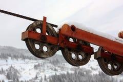 Ski Lift royalty free stock photos