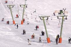 Ski-lift Fotografie Stock